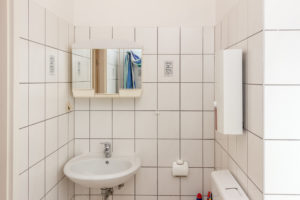 Bathroom holiday apartment Dortmund Huckarde