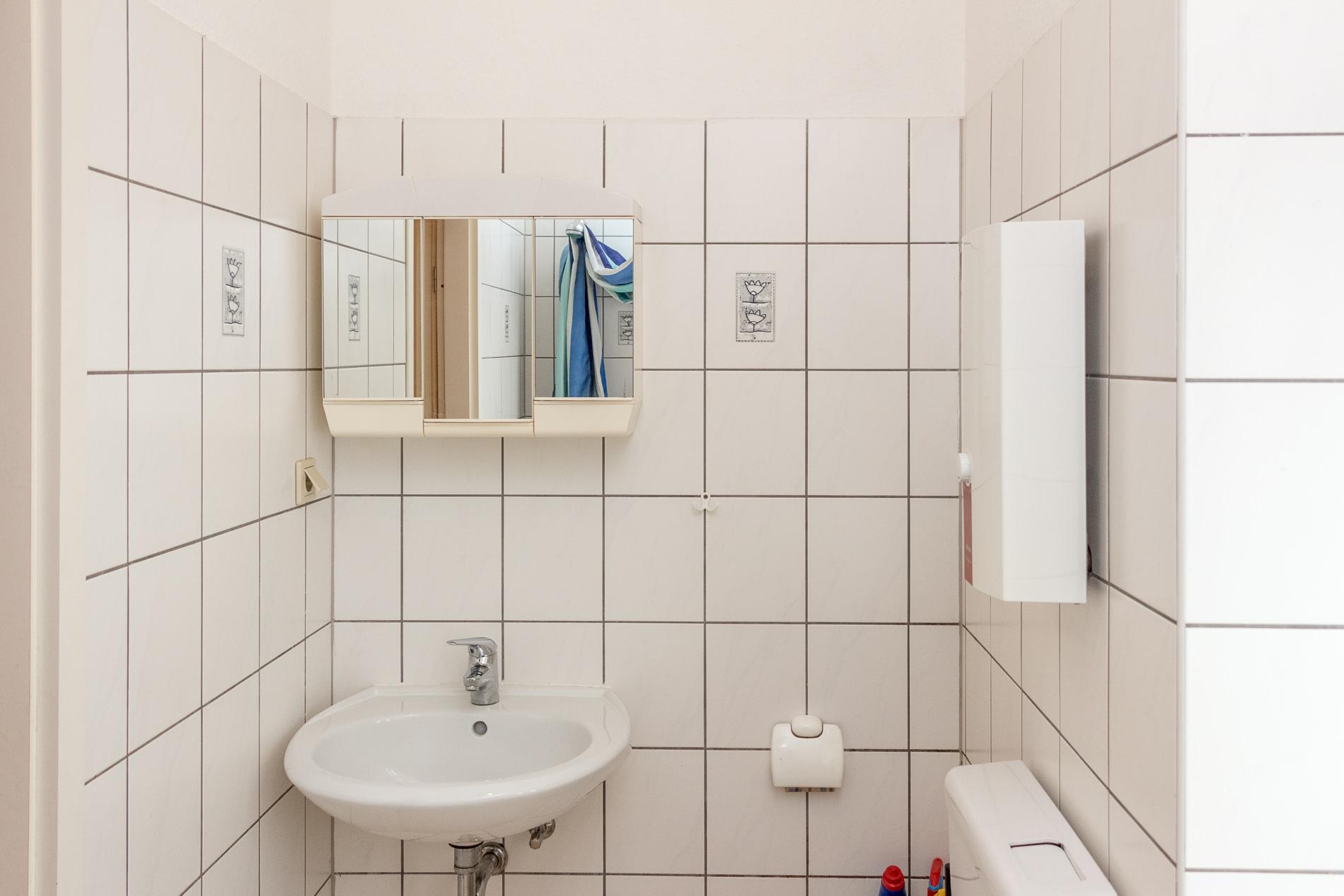Badezimmer Huckarde Ferienwohnung Dortmund