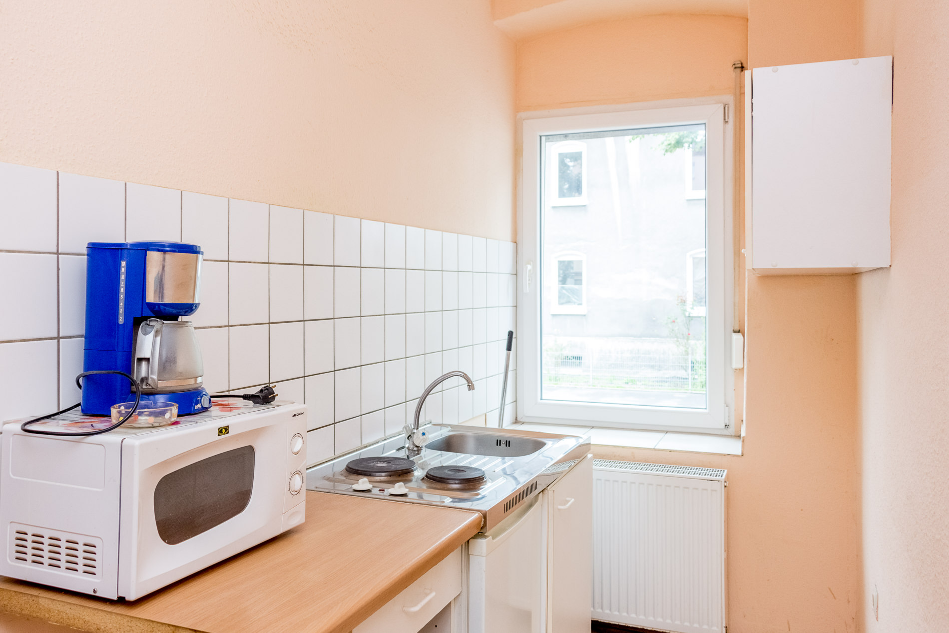 Kitchen fitter's room Dortmund Huckrade